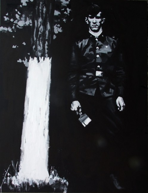 Self-portrait, 2014, 200х150cm Acrylic, canvas