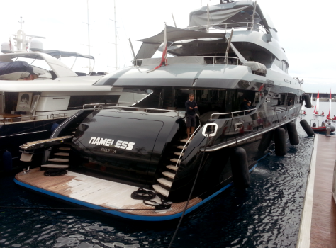 boat of Yacht show