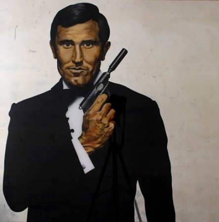 GEORGE LAZENBY, 2013, 100x100cm Acrylic on organic glass